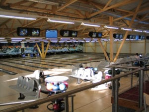 Pistes de bowling à la croisée des loisirs à Delémont.