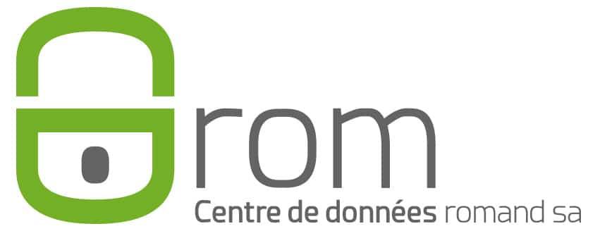 Logo de l'entreprise CDROM centre de données romand SA.