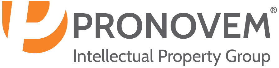 Logo de l'entreprise Pronovem Intellectual Property Group.