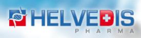 Logo de l'entreprise pharmaceutique Helvedis.